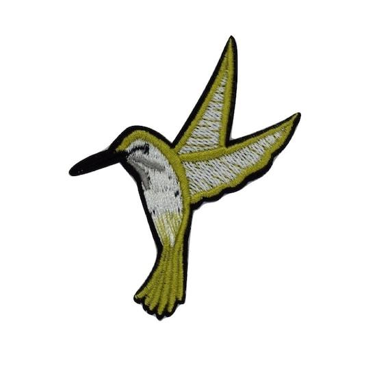 Hummingbird Iron on Patch