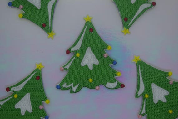 Christmas Tree Iron on Patch