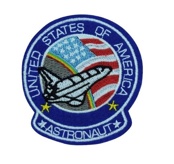 USA Rocket Iron on Patch
