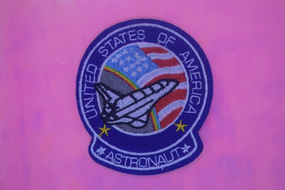USA Rocket Iron on Patch