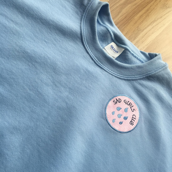 Baby Blue Sad Girls Club Sweatshirt