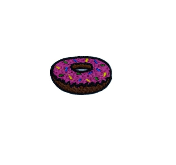 Small Pink Donut on Patch