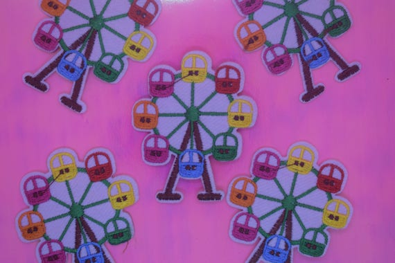 Ferris Wheel Iron on Patch