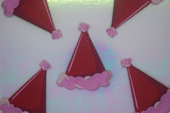 Santa Hat Iron on Patch