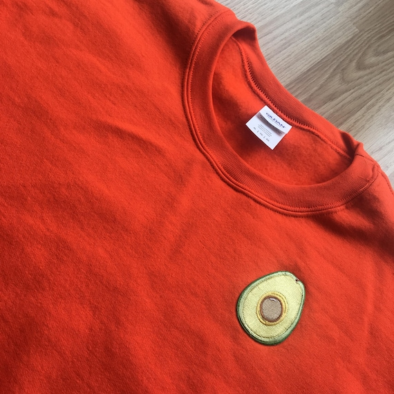 Orange Avocado Sweatshirt