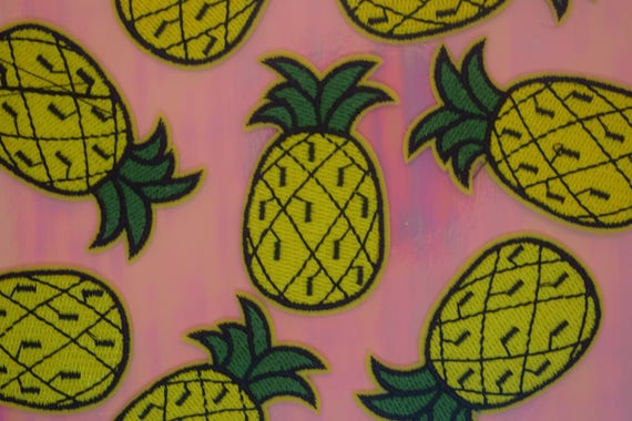 Pineapple Iron on Patch