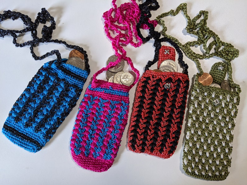 Crocheted Coin Pouch