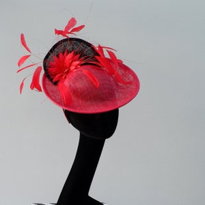 Nude front facing fascinator with nude feather trimmings by Hats2go