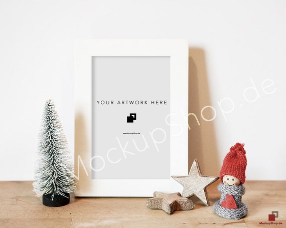 3 CHRISTMAS MOCKUP FRAMES Set of 3 Christmas Frame Mockups / | Etsy