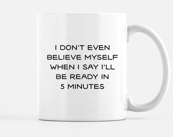 Always Late Mug Etsy