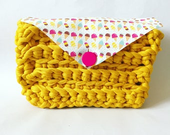 Crochet Kids Ice Cream Bag Pattern