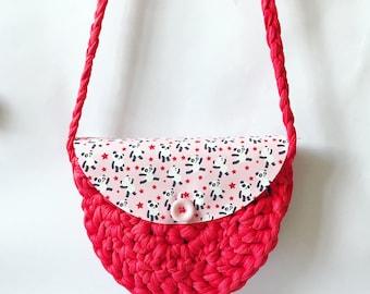 Crochet Kids Panda Bag Pattern