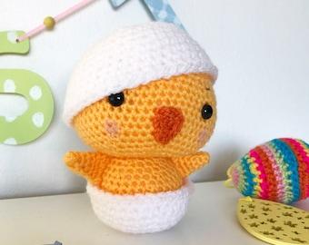 Crochet 'Chester' Chick Pattern