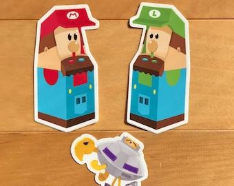 Mario & Luigi Sticker pack