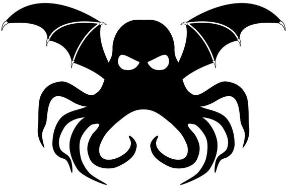 Cthulhu Symbol Pattern Etsy Cthulhu tattoo eldritch horror occult symbols hp lovecraft pin and patches symbolic tattoos body mods black backgrounds wearable art. cthulhu symbol pattern