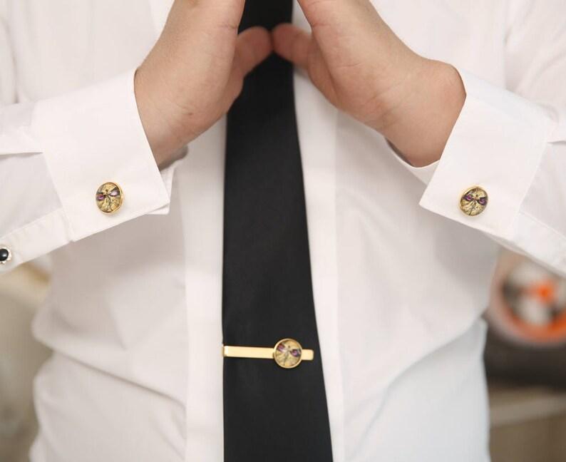 Silver Tie Tack,Groom Cufflinks, Boyfriends Wedding Gifts Jack Russell Terrier Cufflinks Groomsmen Team Cuff link Father/'s Cufflinks
