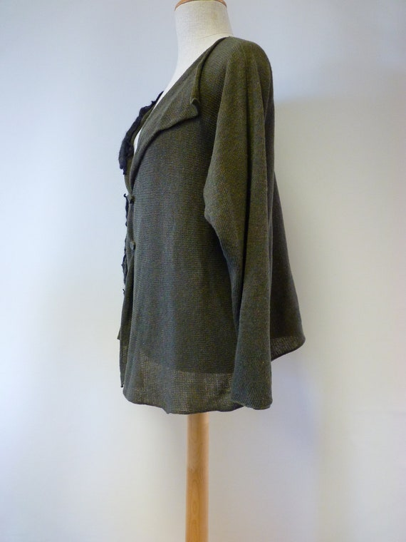 green XL Special wool size cardigan price forest qXTXEwB