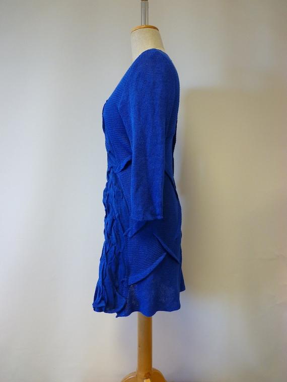 tunic The linen cobalt M price hot size qpxrwpI