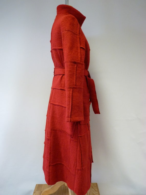 red coat wool size M Artsy d6nEWAqd