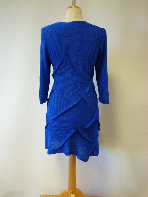 tunic The linen cobalt M price hot size qpxrwpI