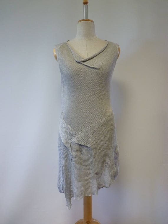 Summer linen dress size M linen M Summer dress UHUwqxTar