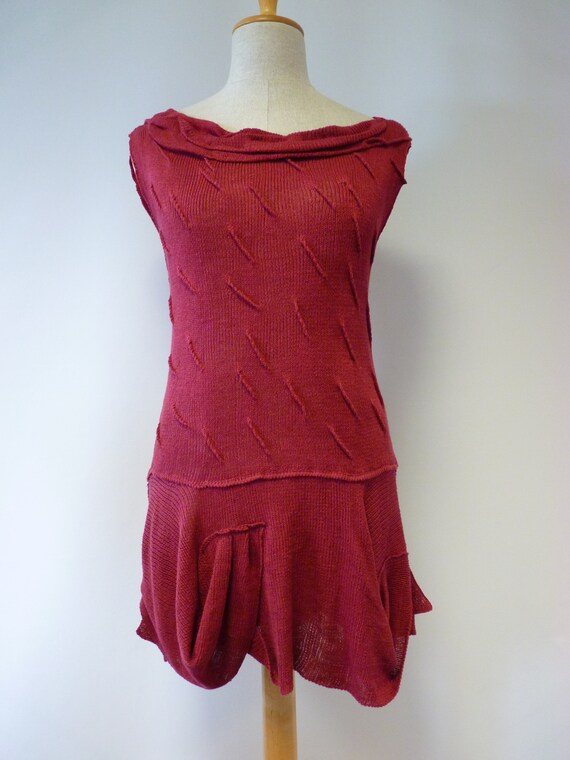 Only coloured knitted Special size rose price one tunic sample L Bq6x706O