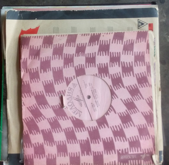stack of vinyl records 33 rpm mostly spoken word Мелодия   Etsy 2bbe5524c98