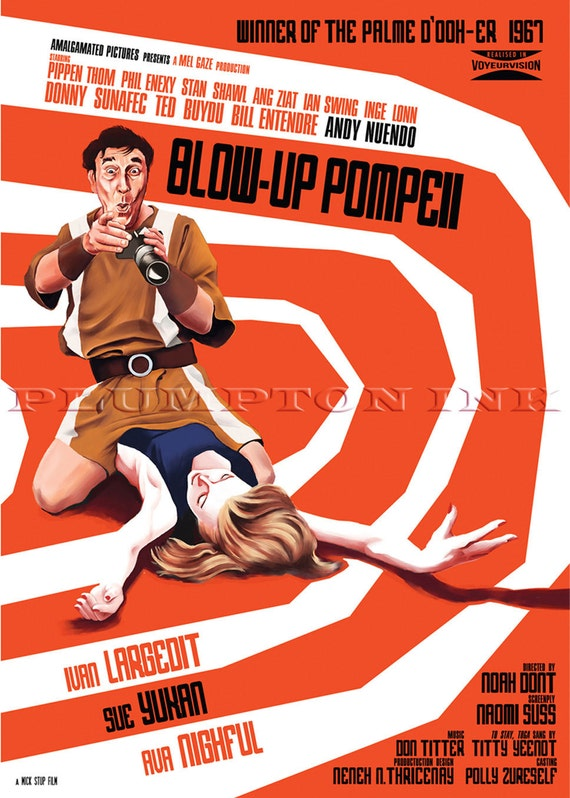 A4 Sizes A2 A3 A1 Honey I Blew Up The Kid Vintage Movie Poster