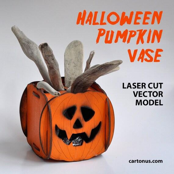 Laser Cut Lamp Laser Cut Pumpkin Pumpkin Halloween Wooden Lamp Halloween Decor Laser Engrave Halloween Decorations Jack O Lantern