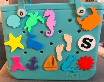Bogg Bag Charms-Simply Southern Bag Charm-Bogg Bag Bits-Custom Bogg Bag Charms-Monogram Bogg Bag-Initial Charm-Beach Bag Charms