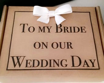 bride gift from groom etsy