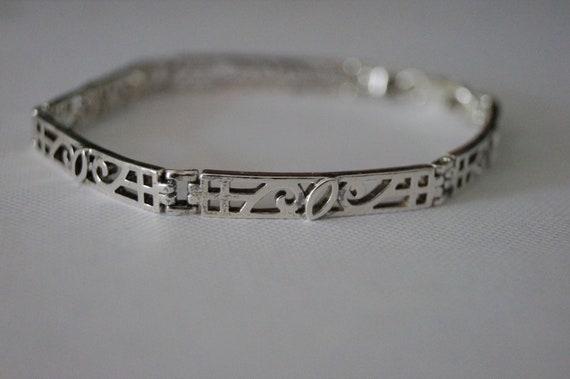 Vintage Sterling Silver Bracelet – Vintage Wave Br