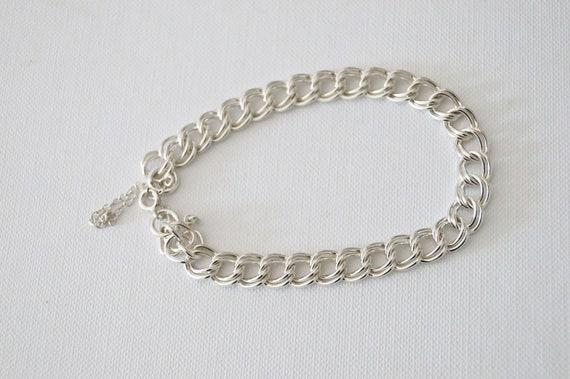 Vintage Sterling Silver Bracelet – Vintage Silver… - image 5