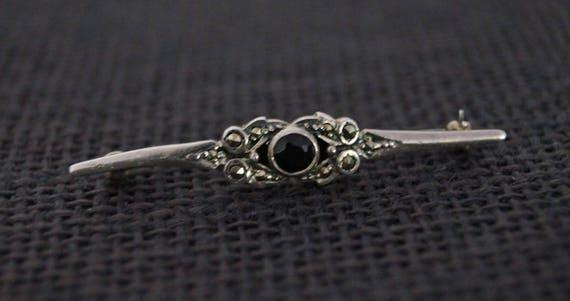 Vintage Sterling Silver Brooch - Vintage Brooch -