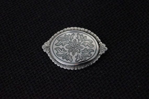 Vintage Sterling Silver Brooch - 1990 Vintage Broo