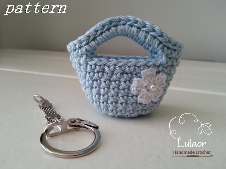 Crochet keychain pattern Instant download pattern Crochet