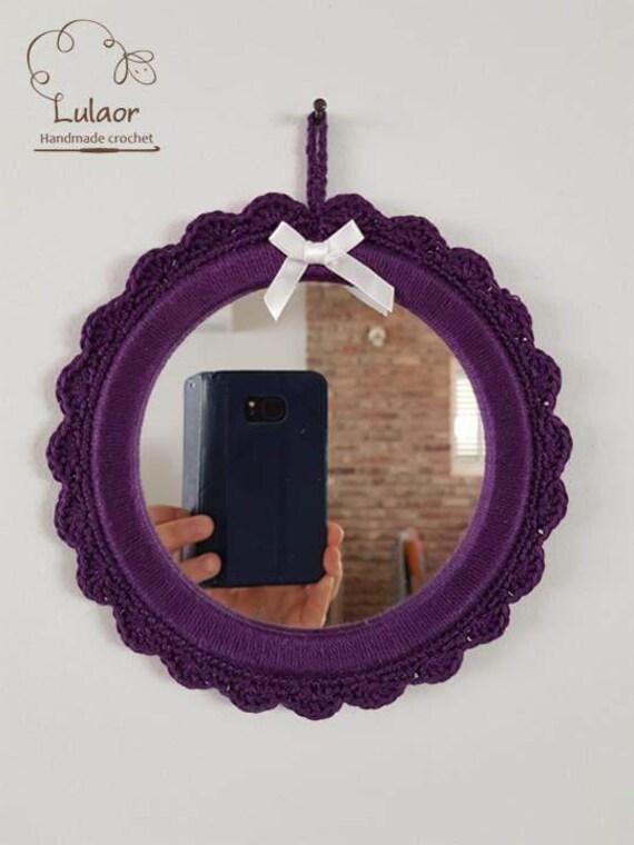 Verkauf h keln spiegel kleine runde morror etsy - Kleine runde spiegel ...