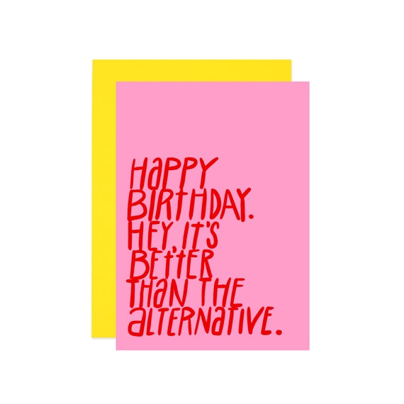 Funny Birthday Card For Her Funny Over The Hill Birthday Etsy