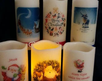 Christmas Eve LED Candle