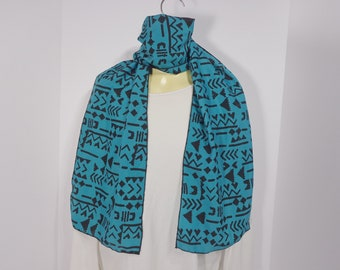 Scarf Beautiful Fashion Scarfs will add a splash of color to an outfit worn at the neckline, as a headband, turban, as a sash around waist.