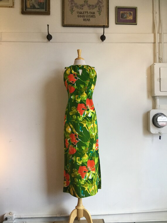Vintage Hawaiian dress - image 1