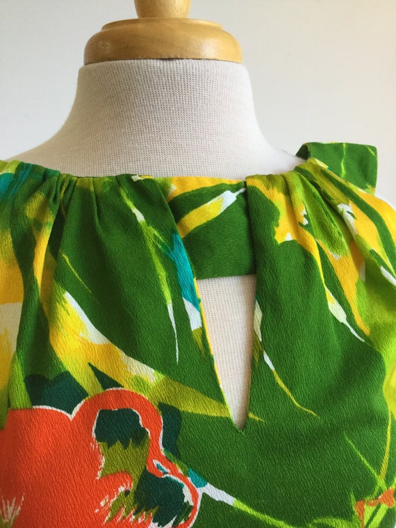 Vintage Hawaiian dress - image 7