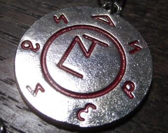 GRAND SALE- Supernatural Angel Banishing Sigil Necklace