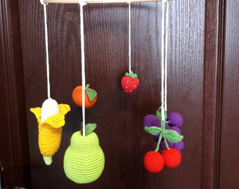 18f017db783 Baby mobile fruits