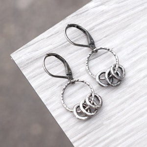 Sterling Wrap Earrings E2700