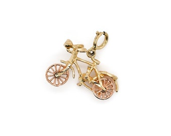 Bicyclette Vélo Charms CCB 40 Pack CB27 perles Pendentif Craft Argent