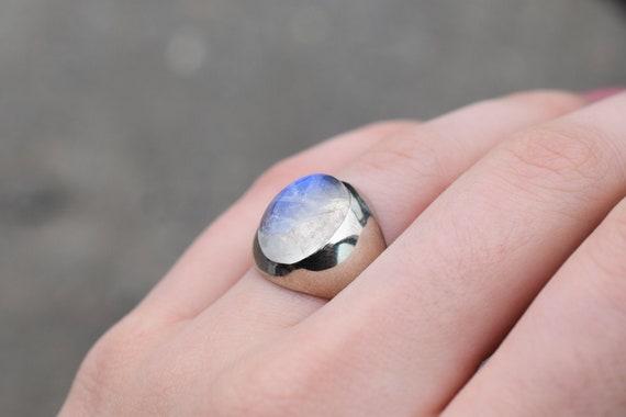 Sterling Silver Designer NICKY BUTLER Rainbow Moon