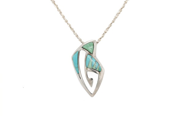 Sterling Silver Carolyn Pollack Relios Turquoise I