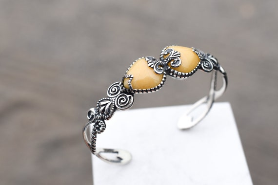 Sterling Silver Carolyn Pollack Relios Yellow Quar
