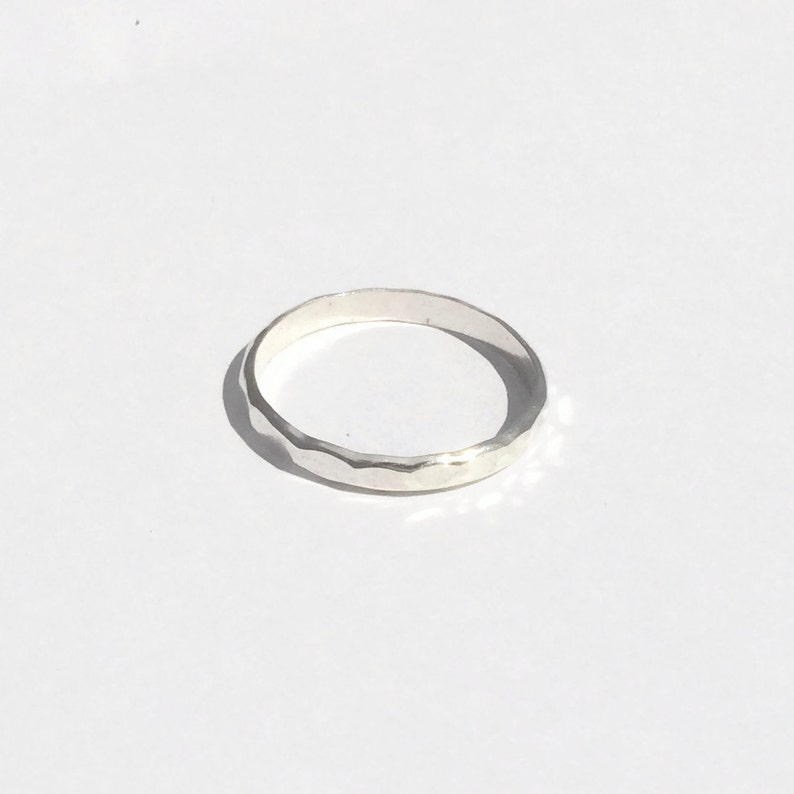 The Perfect Thumb Ring Half Round Sterling Silver  b394af5da